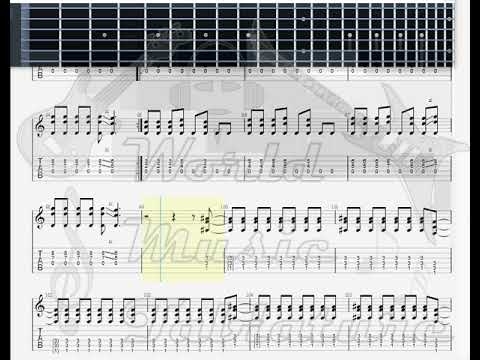 Iron Maiden   The Number Of the Beast GUITAR 1 TAB