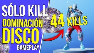 Record! *44 KILLS* with the new ROBOT SKIN!! | DISC DOMINATION ? FORTNITE GAMEPLAY