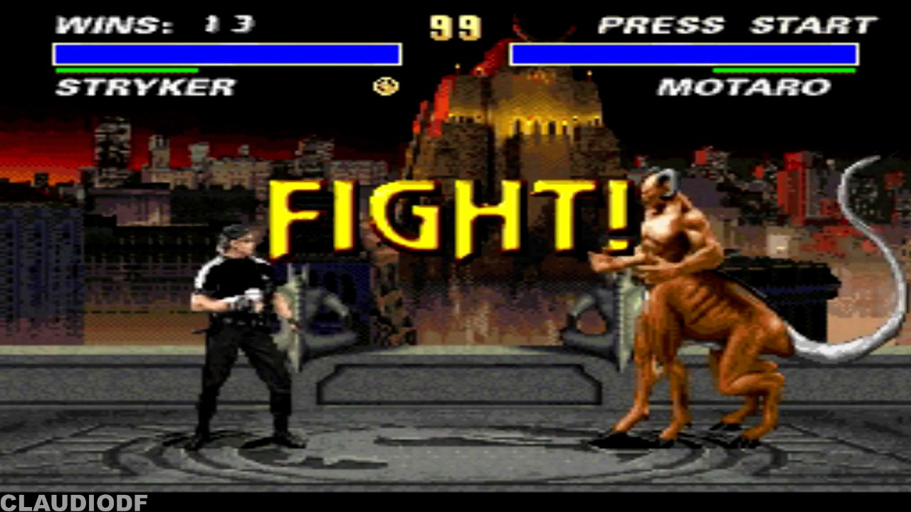 Download [TAS] Ultimate Mortal Kombat 3 (hack) STRYKER Very Hard (SNES)