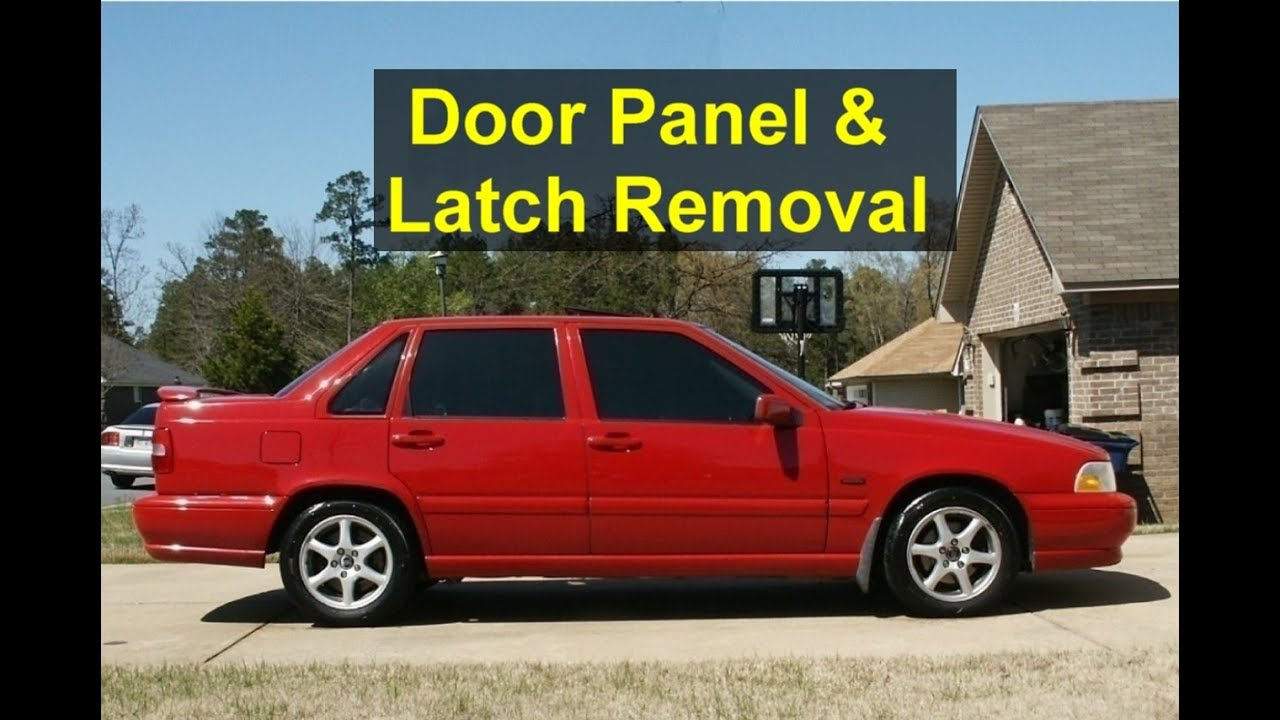 Volvo S70 V70 Door Panel Removal - Door Latch Removal - Auto Repair Series - YouTube & Volvo S70 V70 Door Panel Removal - Door Latch Removal - Auto ... Pezcame.Com