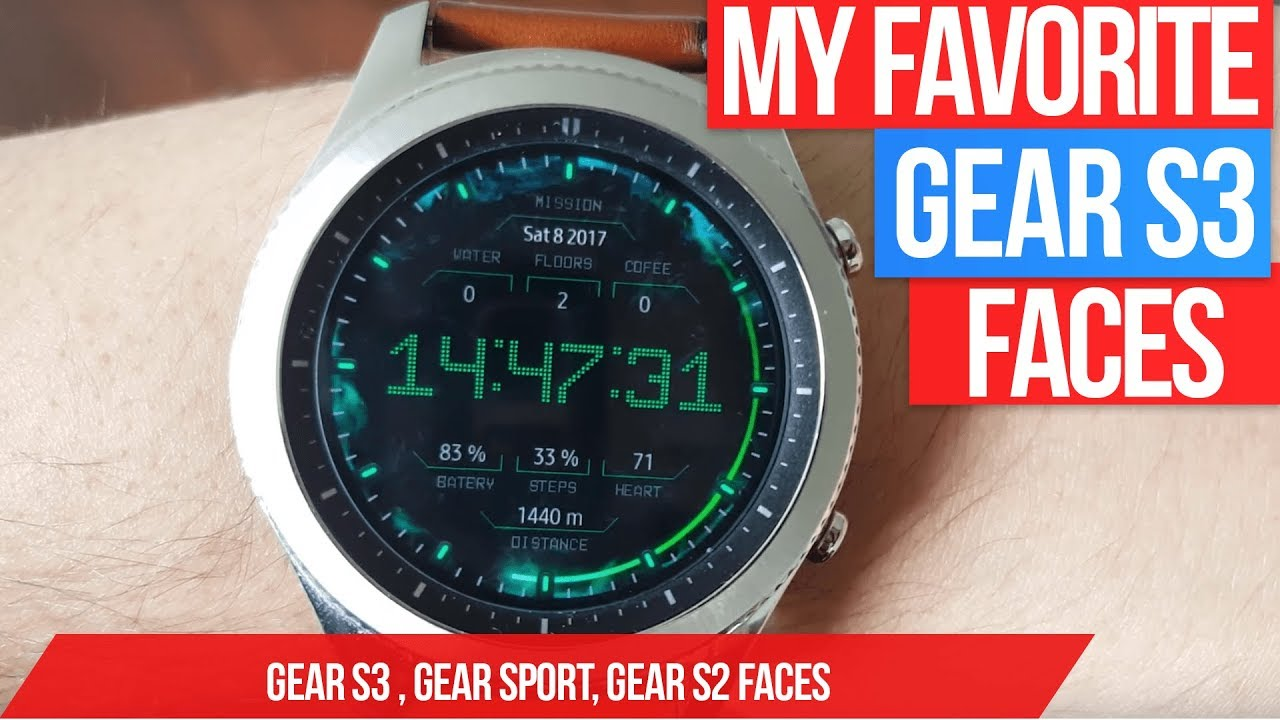 Best Gear S3 Watch Faces 2020 Gear S3 Best Watch Faces Ever (My favorite Samsung Gear S3 watch