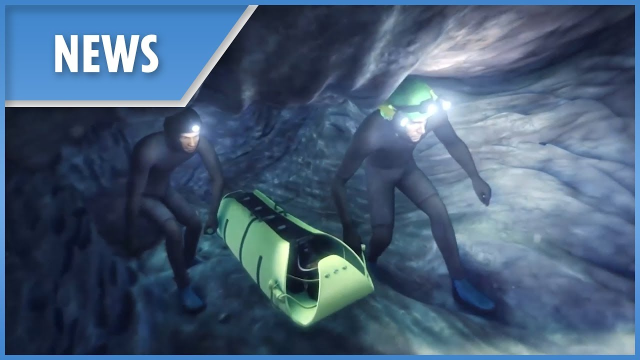 Thai Cave Rescue: a reconstruction in 3D