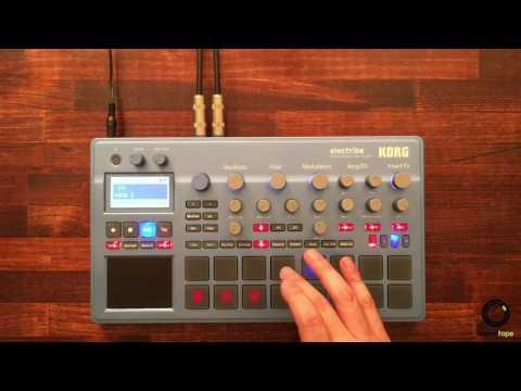 KORG electribe #2 | Bass & Synth Pattern Making