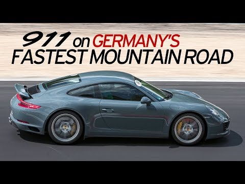 Porsche 911 4S Reviewed on Germany's Best Road - Everyday Driver Europe