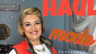 Beauté 50 ans et + : HAUL MODE DEVERNOIS pour les vraies femmes actives