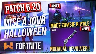 Patch 6.20: Royal Zombie Mode, New Weapon - Unlimited Glider! Fortnite Battle Royale