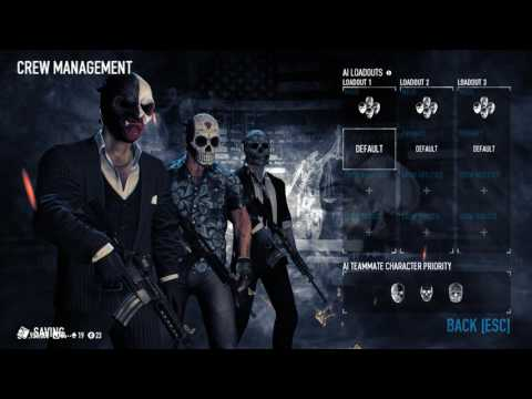 Henchmen Crew Management Update 🌟 PAYDAY 2