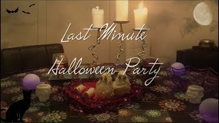 DIY Last Minute Halloween Party! with Vegan Treats! | Nikki Stixx