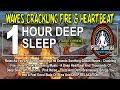 1 Hour Deep Sleep Insomnia Ocean Waves Fire Heartbeat Affirmations Guided Meditation Paul Santisi