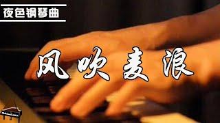 李健 -《風吹麥浪》鋼琴曲 趙海洋「遠處蔚藍天空下湧動著金色的麥浪 就在那裡曾是你和我愛過的地方」 ▏夜色钢琴曲Night Piano