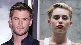 chris hemsworth hilariously lip syncs to miley cyrus wrecking ball