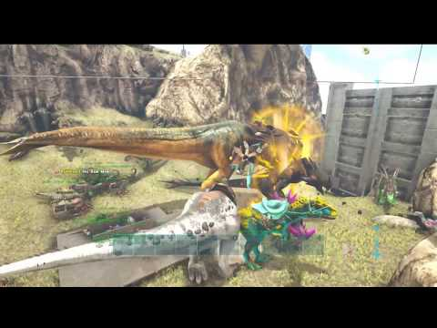 BlackOut Betrayal Raid Defense Ark Survival Evolved Fighting Blackout on Official Xbox Server 42