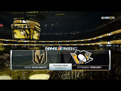 NHL 18 (PS4) - 2017-18 - Game 55 vs Golden Knights