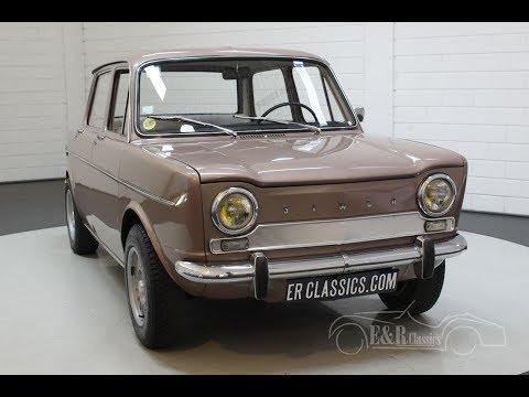 Simca 1000 GL Automatique 1966 -VIDEO- www.ERclassics.com