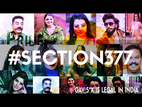 Why All Celebrities Support Gay S*X ? - Section 377 Of India Explained | Love Is Love | LGBT ?