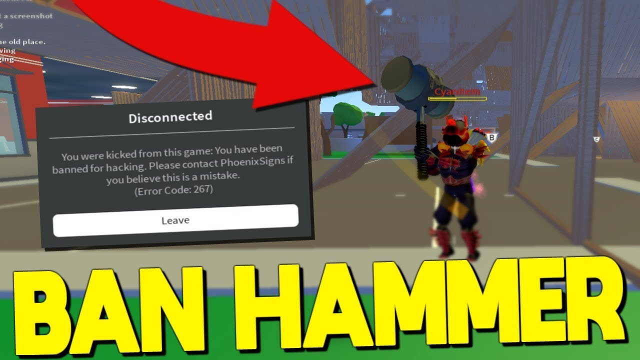 *RARE* Ban Hammer Got Me Banned In Strucid... (Roblox ...