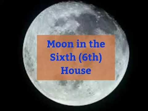 Moon in the sixth (6th) house in birth chart in Vedic Astrology