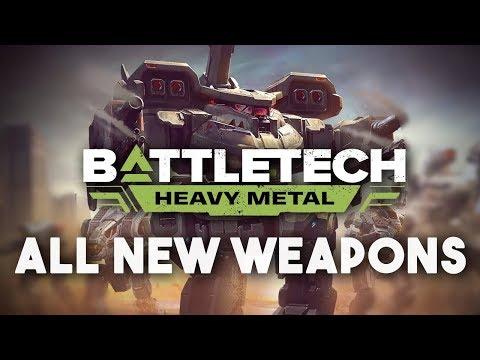 ALL NEW WEAPONS   BattleTech: Heavy Metal DLC