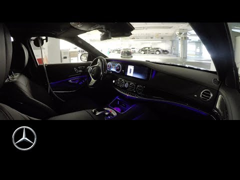 Driverless journey of the Mercedes-Benz S-Class from production line – Mercedes-Benz original