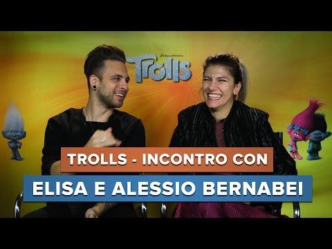 TROLLS - Incontro con Elisa e Alessio Bernabei