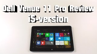 Dell Venue 11 Pro i5-Version (7130) Review