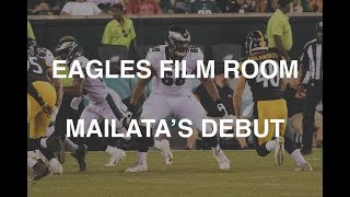 EAGLES FILM ROOM | JORDAN MAILATA'S NFL DEBUT WAS FILLED WITH PROMISE thumbnail