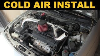 Cold Air Intake Install - Project Integra
