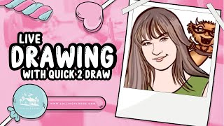 Live drawing with Quick 2 Draw