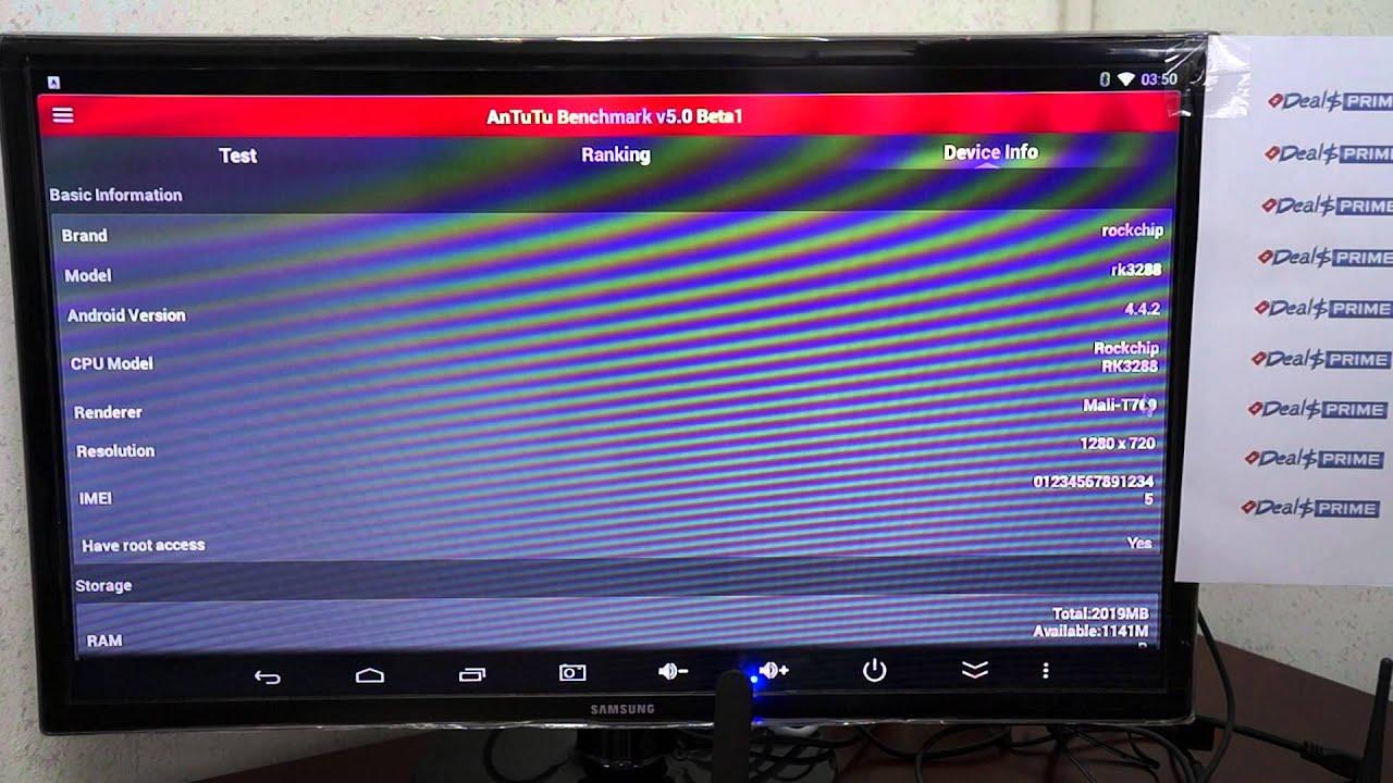 CS928 RK3288 Android 4 4 KitKat TV Box - Antutu Benchmark Review