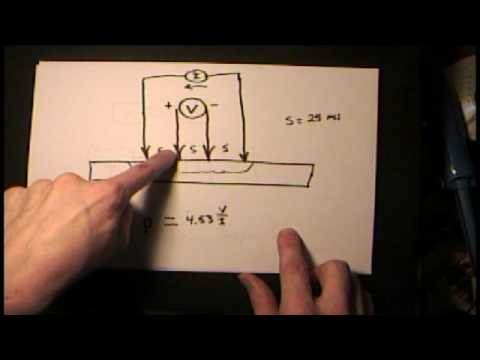 Wafer Sheet Resistance and Ohms Per Square - Four Point Probes