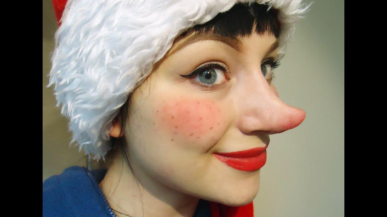 Christmas Elf Makeup Tutorial Youtube