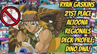 Ryan Gaskins 21st Place Altoona Regional Deck Profile; Dino DNA!
