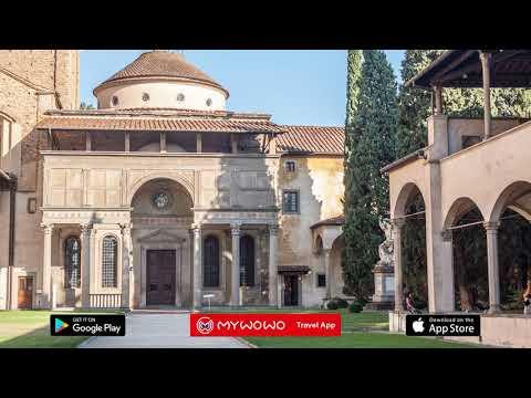 Santa Croce – Pazzi Chapel – Florence – Audio Guide – MyWoWo Travel App