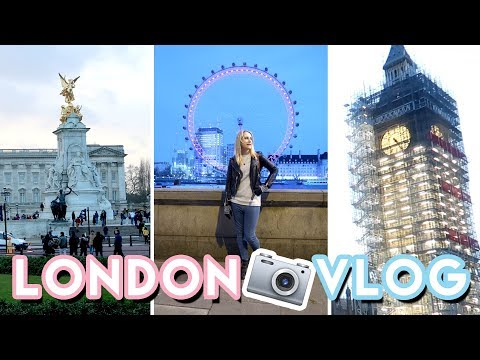 London Travel VLOG 2018 📸 Come sightseeing with us!   Becky Excell