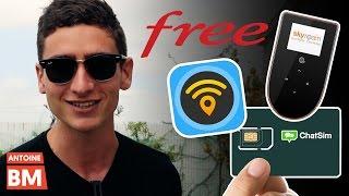 5 façons de rester connecté à internet en voyage