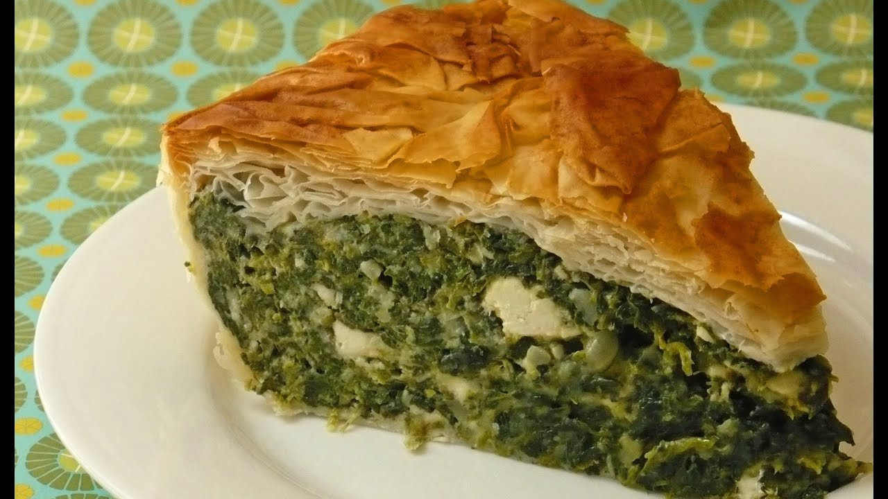 How to Make a Spinach Pie - YouTube