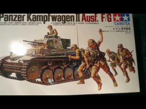 Tamiya 1/35 Panzer 2 Afrika Korps Pt, 2