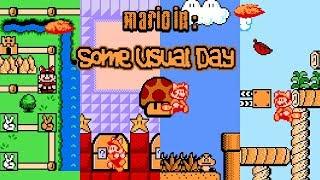 Mario in: Some Usual Day [#1] • Super Mario Bros. 3 ROM Hack (Playthrough)