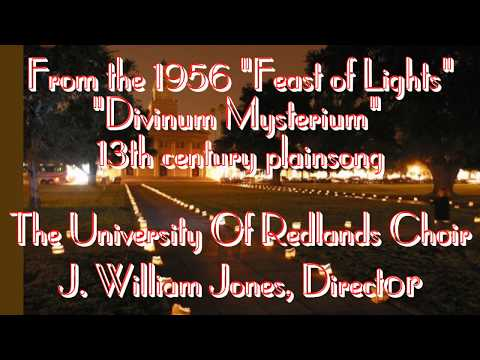 The University Of Redlands Choir -