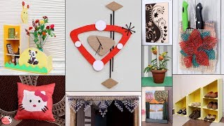10 All... Home Useful Ideas Making From Waste Items || DIY Handmade Things