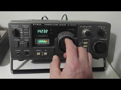 Trio Communications Receiver R-1000