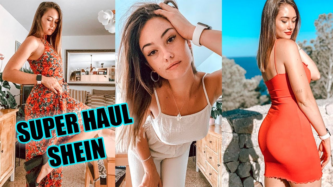 HAUL SHEIN verano 2020 ♡ +20 PRODUCTOS!!! try on haul 300€