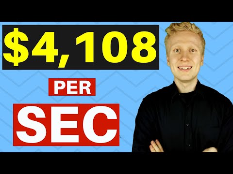 $4108 PER SECOND! Work From Home Business 2020 (Work At Home)