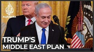 Eyes on Israel polls, Netanyahu welcomes Trump's Middle East plan