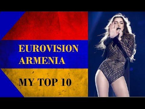 Armenia in Eurovision - My Top 10 [2006 - 2016]