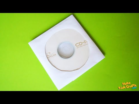 How to make CD Sleeve from Paper? DIY