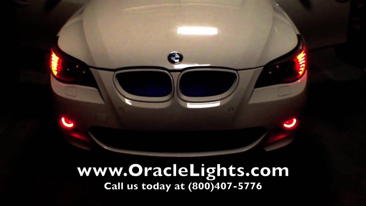 custom oracle lighting installation on a bmw 550i by advanced