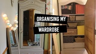Wardrobe Organise | Storage Ideas