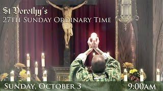 27th Sunday Ordinary Time