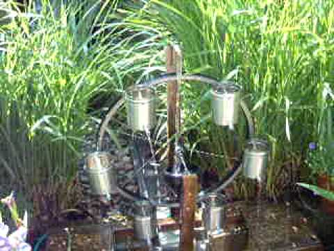 Chaos (Lorenz) Wheel As A Garden Water Feature   YouTube